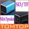 Mini Portable USB Speaker Micro SD/TF Music Player for iPod Laptop Black Blue