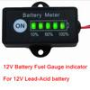 Wholesale 12V Battery Fuel Gauge indicator for 12V Lead-Acid battery meter SLA, AGM, GEL, VRLA battery Pack
