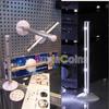 New White 4 LED Column Light Lamp Kitchen Bathroom Desk Drawer Wall Wardrobe Cabin # 30444