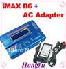 free shipping  IMAX B6 Digital RC Lipo NiMh Battery Balance Charger+AC POWER 12v 5A Adapter 2S-6S 7.4V-22.2V