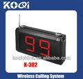 Wireless Calling Server System Receiver K-302