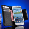 Original Fashion brand case cover for Samsung Galaxy SIII I9300 S3 Genuine Leather flip case card insert with magnet
