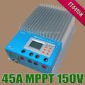 45A 48V ET4415 MPPT Solar Charge Controller 12V 24V 36V 48V auto Solar cells Panel Battery Regulators LAN Connection Ethernet
