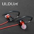Uldum heavy bass sound stereo in-ear earphones sports running for mobile phone headphones