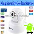 Free shipping TENVIS WIRELESS IP CAMERA PAN/TILT BABY/PET/HOME MONITOR WIFI CAM IPHONE/ANDROID IP Camera IP