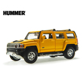 free shipping Toy car acoustooptical h3 suv hummer alloy car model child gift