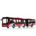 free shipping Bus model lengthen alloy car model toy car WARRIOR cars gift