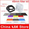 New 2014 14in1 camera lens filter kit 49mm adapter nd gradient filter pentax k-30 k-50 k-500 k-r 645d k100d k-3 k-5 II k-5IIs k7