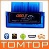 Mini V2.1 ELM327 ELM 327 OBD OBD2 Bluetooth Interface Auto Car Scanner obdii obd ii Diagnostic Tool for Android Windows Symbian