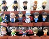 Free shipping 16pcs Anime Detective Conan PVC plush action Figure Model Toys Dolls 5-5.6cm gifts