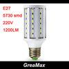 9W 15W LED Corn Lamp Bulb Light 42 leds 60 leds 5730 SMD E27 AC 220V White & Warm Light Energy Saving Free Shipping