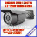 Security Surveillance Outdoor CCTV Camera 700TVL EFFIO-E SONY Exview CCD 2.8-12mm Lens. Free Shipping