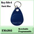 RFID key fobs EM4305 key tag 125KHz proximity ABS key tags for access control