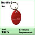 100 PCs T5577 125Khz RFID Rewritable Proximity ID Token Tag Key Keyfobs