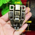 Antique tin box packaging accessories hasp lock buckle clasp duckbill buckle wooden tin trunk