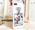10pcs cell phone case perfume parfum bottle hard back cover shell skin case for iphone 4 4S 5 5g fashion mobile case
