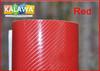 1 pc 1.52*0.5M Red 4D carbon fiber vinyl film / 4D carbon fibre sticker / 4D car sticker with bubble free FREESHIPPING TTT