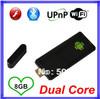 2ps/1Lot Bluetooth MK809 Mini PC RAM 1GB ROM 8GB RK3066 android tv box 4.2.2 Stick TV Dongle dual core Android tv box Wifi HDMI