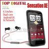 "G18 Unlocked Original HTC Sensation XE Z715e G18 Android v2.3.4 8MP WIFI GPS 4.3""TouchScreen Cell phone"