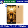 """in stock New Lenovo A850 phone MTK6582 Quad Core unlocked Phone 5.5"""" Android 4.2 GPS WCDMA 3G Smart Phone free shipping /Eva"""