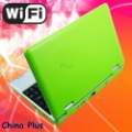 "7"" Mini Laptop Wince 6.0 or Andriod 2.2 system 256M RAM 4G flash support flash10.1 optional color"