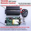 TK103B GPS tracker+Remote Control Phone Tracking GPS Rastreamento GPS103 Car Alarm GPS tracking system Car GPS Tracker Vehicle