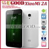Xiaomi M2a MSM8260A Pro Dual Cure 1.7GHz Android Phone 1G RAM +16GB ROM 4.5'' HD IPS Screen 8.0MP Camera Ruston Freeship!