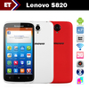 Lenovo S820 android phone Quad core 4.7 inch IPS 1280x720 Screen GPS Bluetooth GSM WCDMA 3G Front Back Camera Multi Color