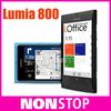"lumia 800 Unlocked Original Nokia Lumia 800 windows 7.5 smartphone 16gb 3G GPS WIFI 3.7"" touch Screen 8MP camera"