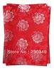 Free shipping!!!Newest African headtie,Head Gear, Sego Gele&Ipele,Head Tie & Wrapper, 2pcs/set , Color.RED,HTO365