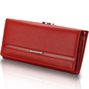 7Colors Classic women's wallet genuine leather long wallet cowhide women's design day clutch