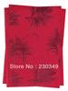FREE SHIPPING!!!Newest style Bandanas,African headtie,Head Gear, Sego Gele & Ipele,Head Tie & Wrapper, 2pcs/set,WINE 0059