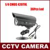 Promotional Item! 420TVL CMOS IR surveillance CCTV Camera 36 LED Night Vision Indoor/Outdoor Security 24Hours Video Camera