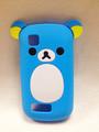 Hotsale Cute Easily bear Phone Case for Nokia Asha 200,High Quality Cell Phone Case Silicone