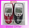 8310 Original Unlocked NOKIA 8310 mobile phone Dualband FM Classic Cheap Cell phone refurbished 1 year warranty