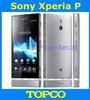 "Original Sony Xperia P LT22i unlocked mobile phone Dual-core 4.0"" 16GB ROM 3G GSM WIFI GPS 8MP Sony LT22i Free shipping"