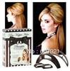 Freeshipping! 6sets=30pcs/lot Bumpits Big Happie Hair Volumizing Inserts Bumpits Hair Pump Beauty Tool hair clip Retail Package