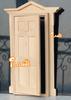 iland 1:12 Dollhouse Miniature No paint Fairy Door Inward Open OA011L