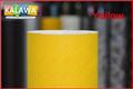 1 Roll Yellow 1.52*30M 4D carbon fiber vinyl film 4D carbon fibre sticker with bubble free many color option FREESHIPPING TTT