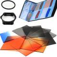 58mm Gradient Filter Lens Filter Kit ND2 4 Bag Case Lens Adapter Ring For 1000d 500d 550d 600d 650d 700d 60d AliG Accessories
