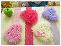 Baby Lovely Headdress Flower + Elastic Lace Headband Hair band Hair Accessories for Girl Kids Headwear XM-483