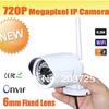 1.0 Megapixel HD Network Mini Wifi IR-Bullet Camera 720 wireless wifi outdoor ip cam mini Security Camera