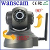 2013 Dual Audio Recordable Wifi Camera ip Infrared Night Vision Pan Tilt Home Security Network ip camera wanscam P2P CCTV