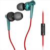 Phrodi POD-007P stereo sports hifi earphone headphones with microphone+adapter Subwoofer pro quality For Iphone Samsung
