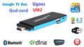 Quad-core mini PC android 4.2 TV box stick dongle UM2 RK3188 2GB/8GB Bluetooth DLNA 1080P XBMC Remote control freeshipping