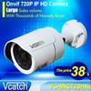 Mini IP Camera Outdoor 720P Waterproof IP66 Network 1.0MP HD CCTV Camera P2P Plug Play VC-MIC720HK + Free Power Supply