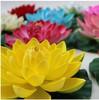 Garden and home decoration ,  pond fish tank ornaments artificial plants flowers  17cm simulation lotus