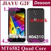 original 4.3 inch jiayu g2f g2fw android smart phone mtk6582 quad core 1GB RAM 4GB ROM 1280*720pix IPS 8.0MP 2200mah /Koccis