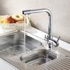 Free Shipping Chrome Kitchen Sink Mixer Tap Brass swivel Faucet Vessel Kitchen faucet mixer Kitchen torneira cozinha HJ-0175