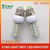 Brand Quality E27 Led Light E27 12W Lamp 220V Led lighting Energy Efficient Corn Bulbs E27 5730 36LEDs Lamps 5730 SMD